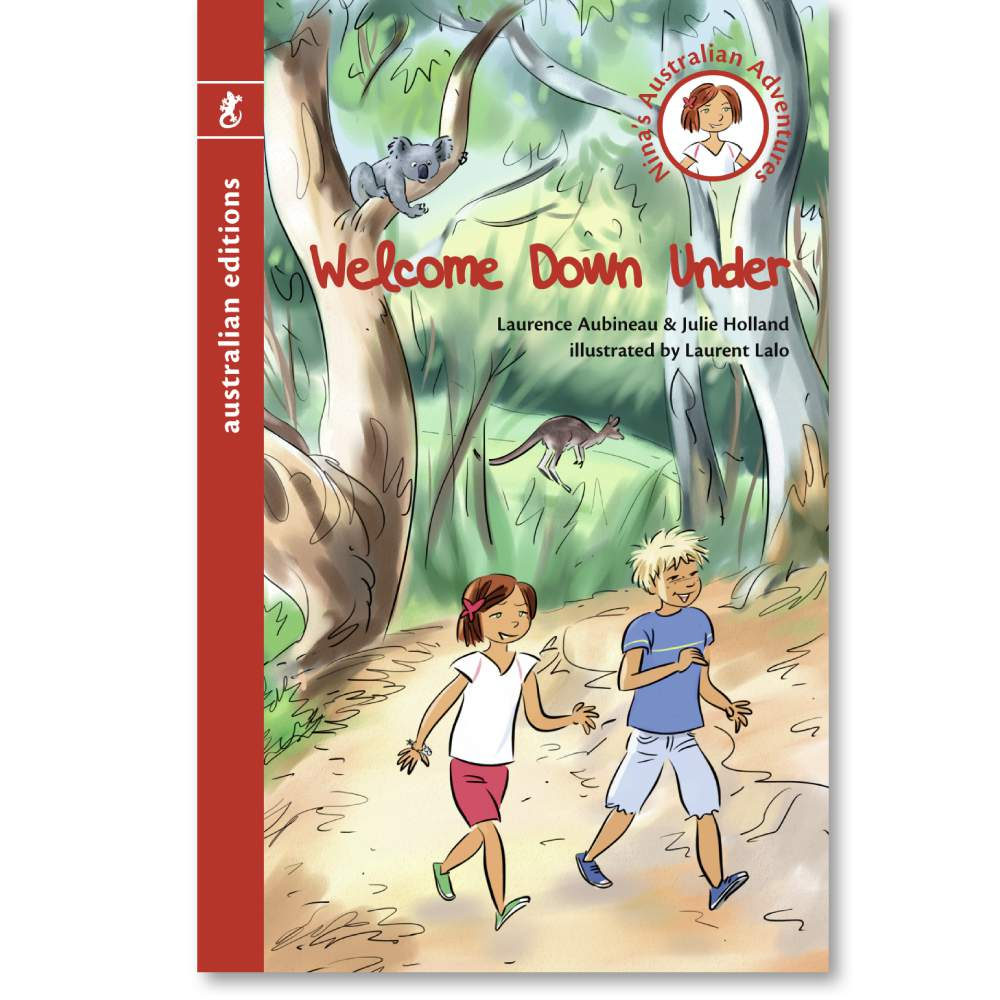 Welcome Down Under book for children - Nina's Adventures