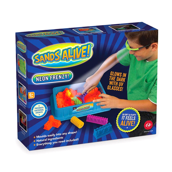 Sands Alive! Neon Frenzy Starter Set | The Design Gift Shop