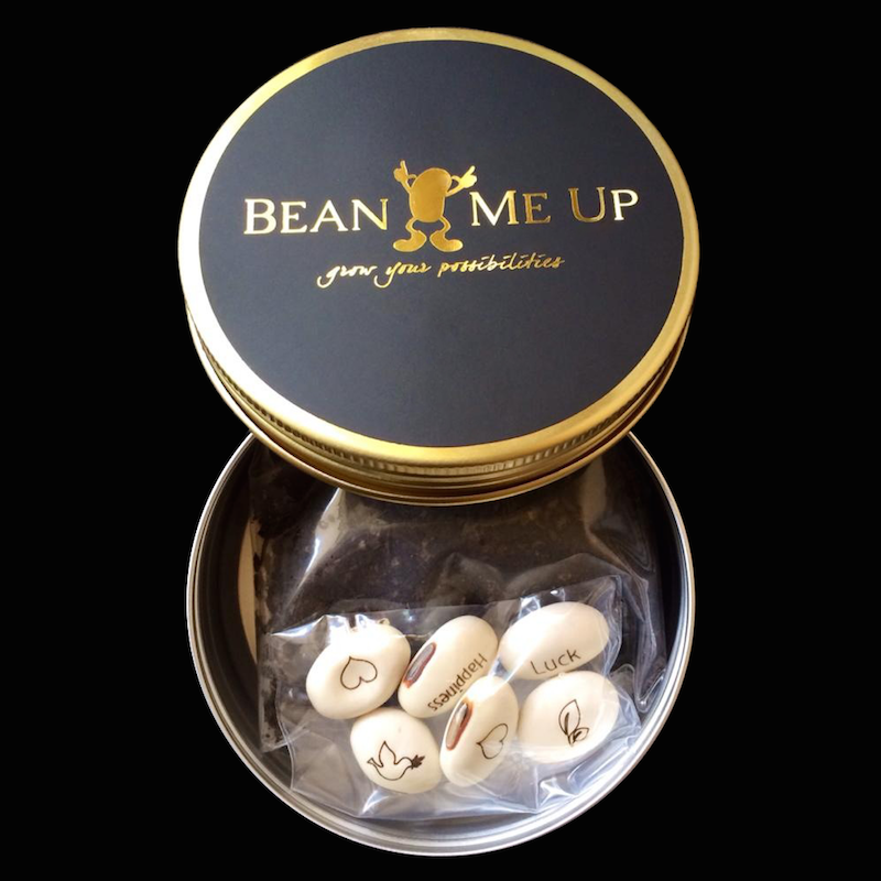Magic Beans Gold Tin by Bean Me Up | The Design Gift Shop
