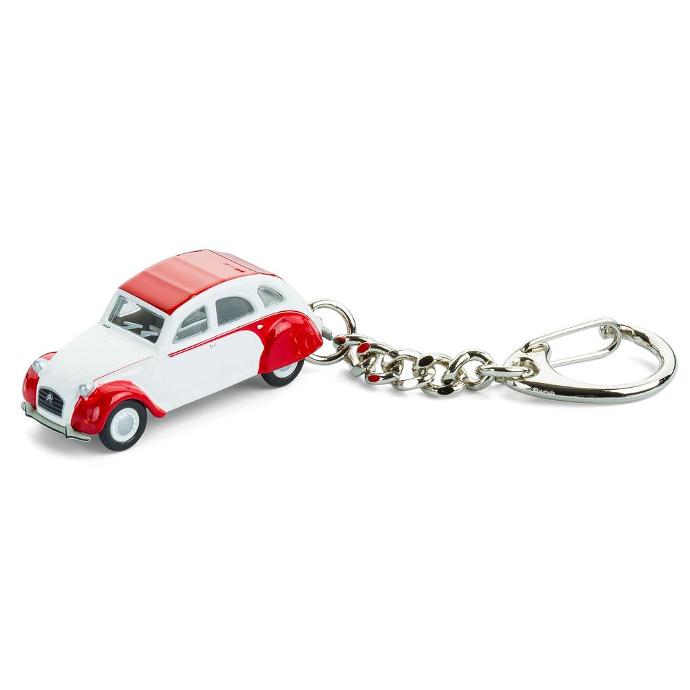 Citroen 2CV Dolly keyring | The Design Gift Shop