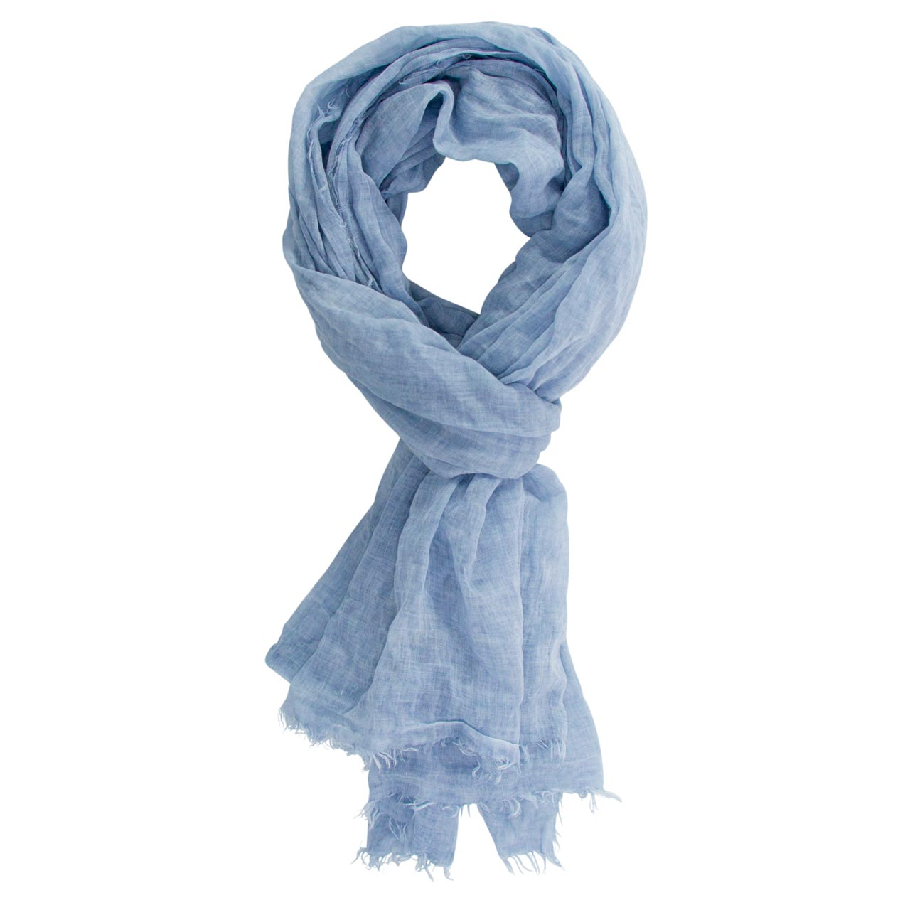 Cotton Scarf Pastel Blue | The Design Gift Shop