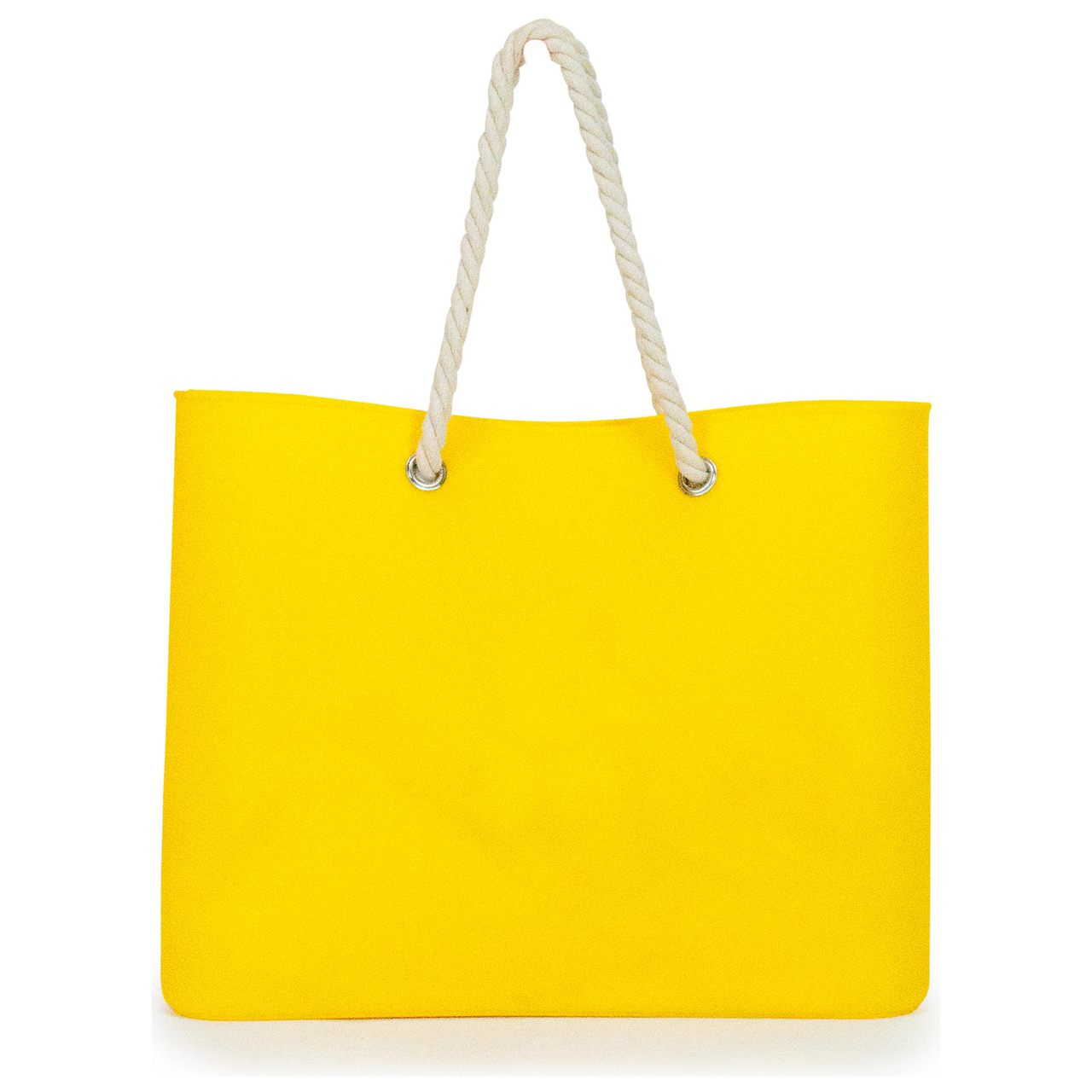 Jelly Tote Silicone in Yellow | The Design Gift Shop