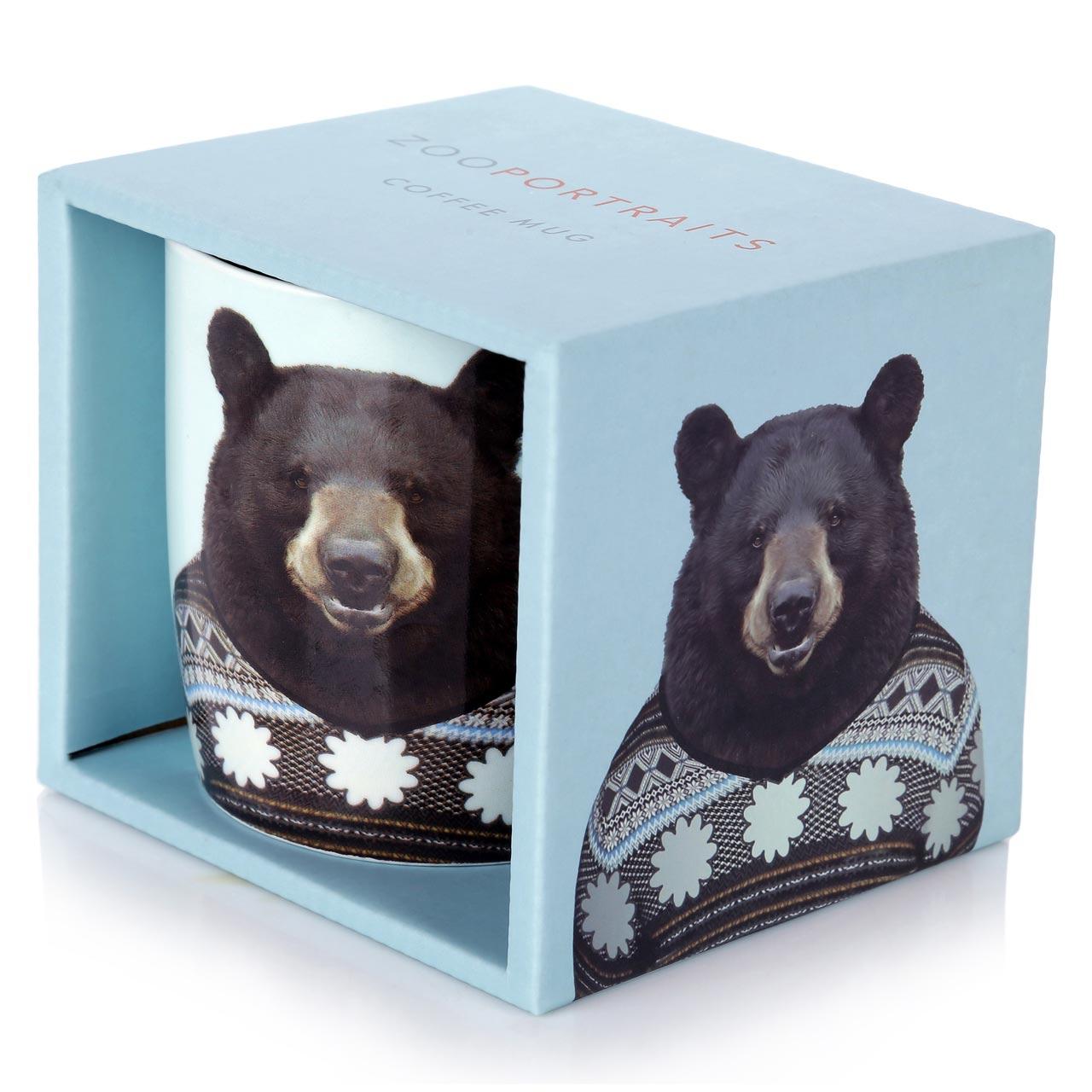Porcelain Mug Bear gift box | The Design Gift Shop