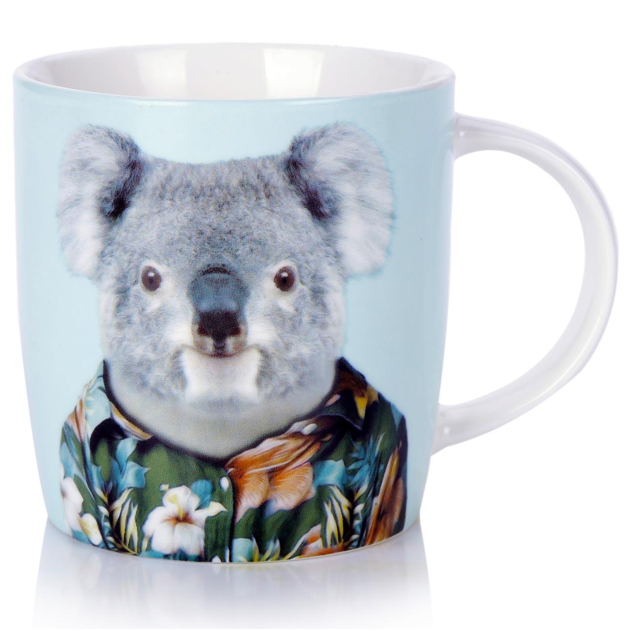 Porcelain Coffee and Tea Mug Koala | The Design Gift Shop