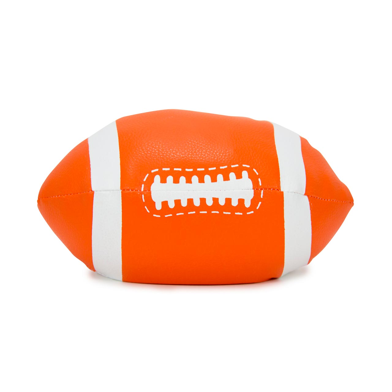 Annabel Trends Football Rugby Ball Doorstop in orange | The Design Gift Shop