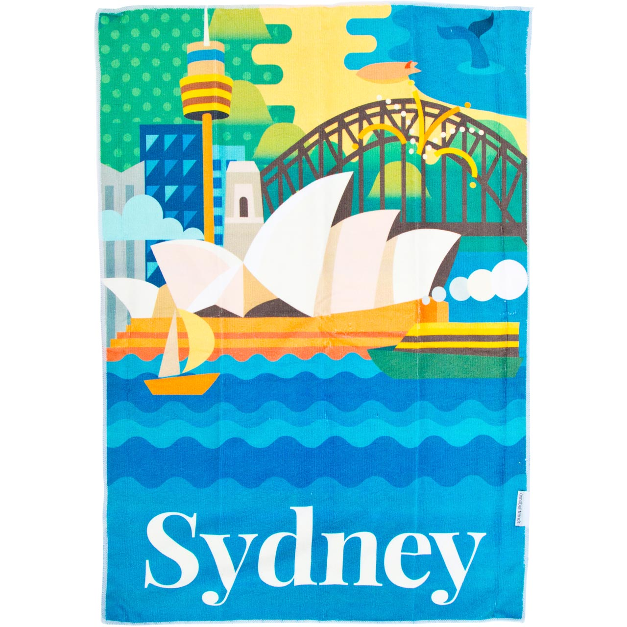 Tea Towel Sydney | The Design Gift Shop