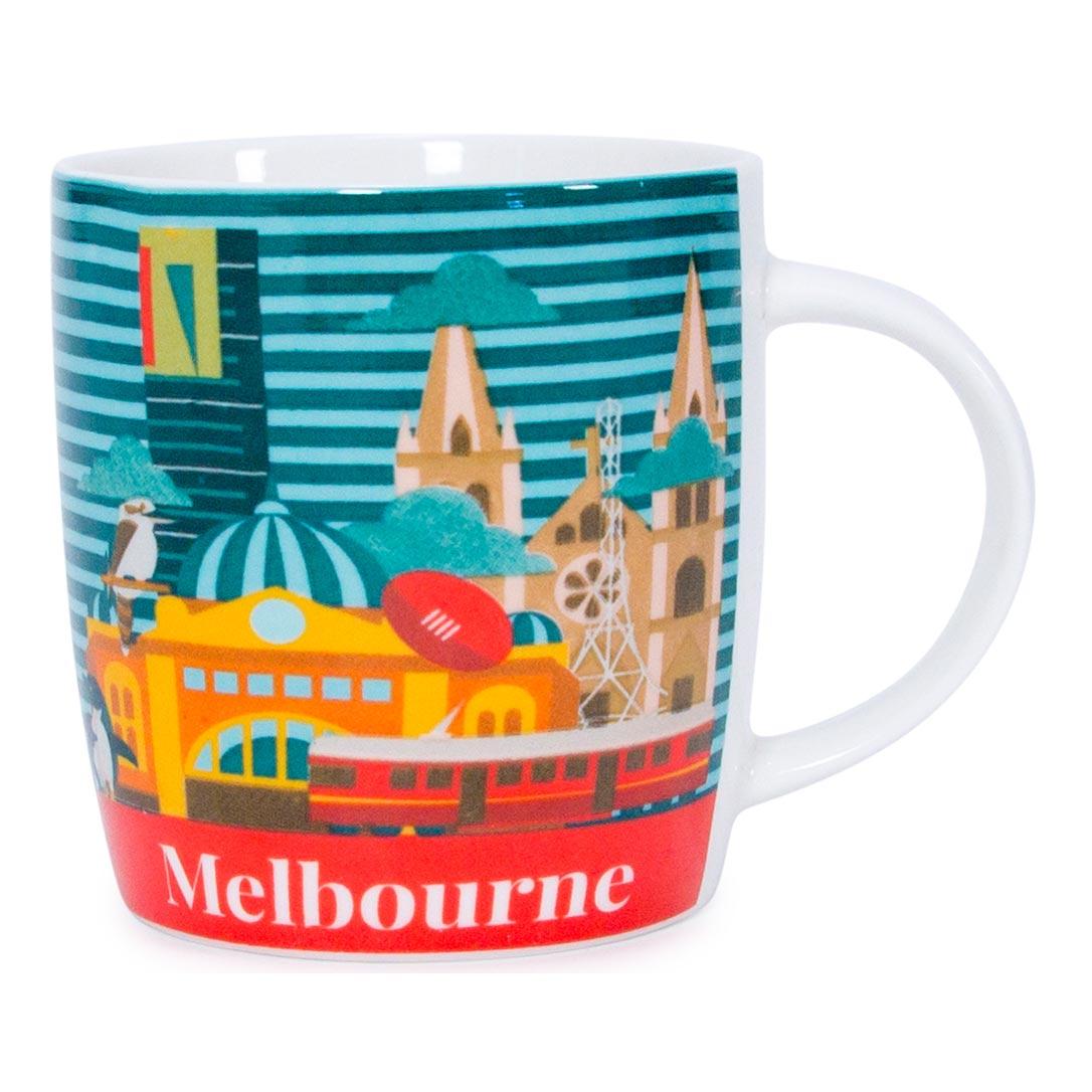 Australia Coffee Mug SMelbourne | The Design Gift Shop