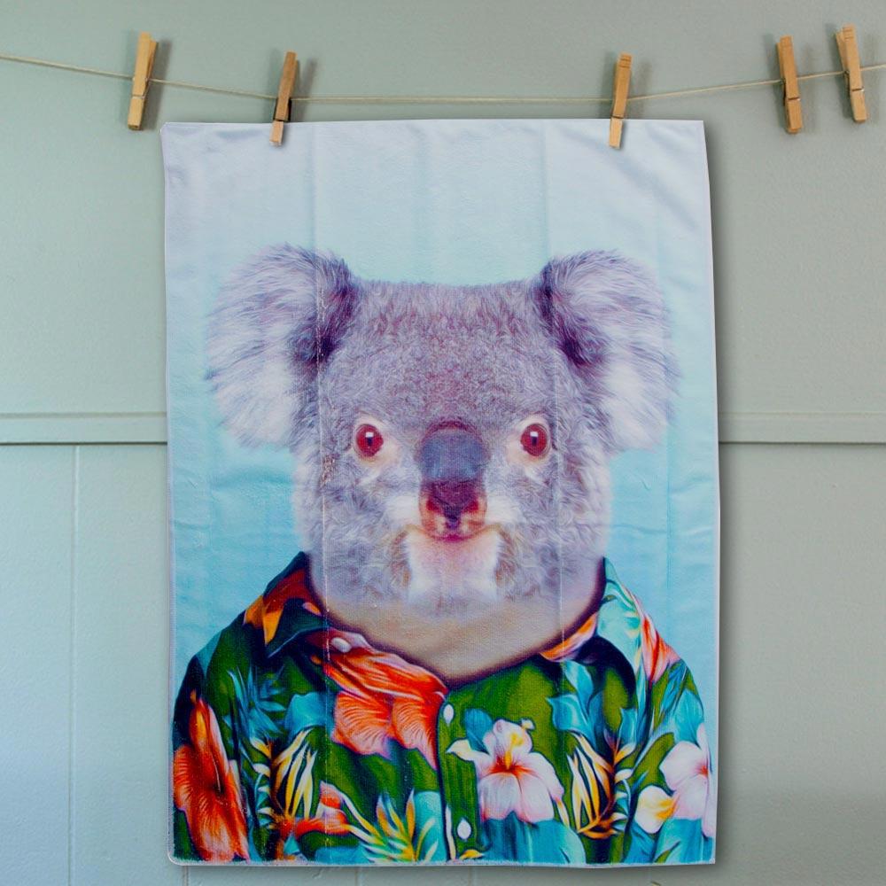Tea Towel Koala | The Design Gift Shop