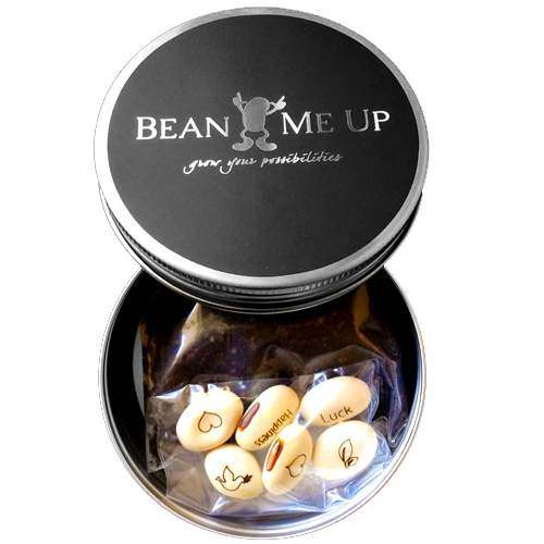 Magic Beans Silver Tin by Bean Me Up | The Design Gift Shop