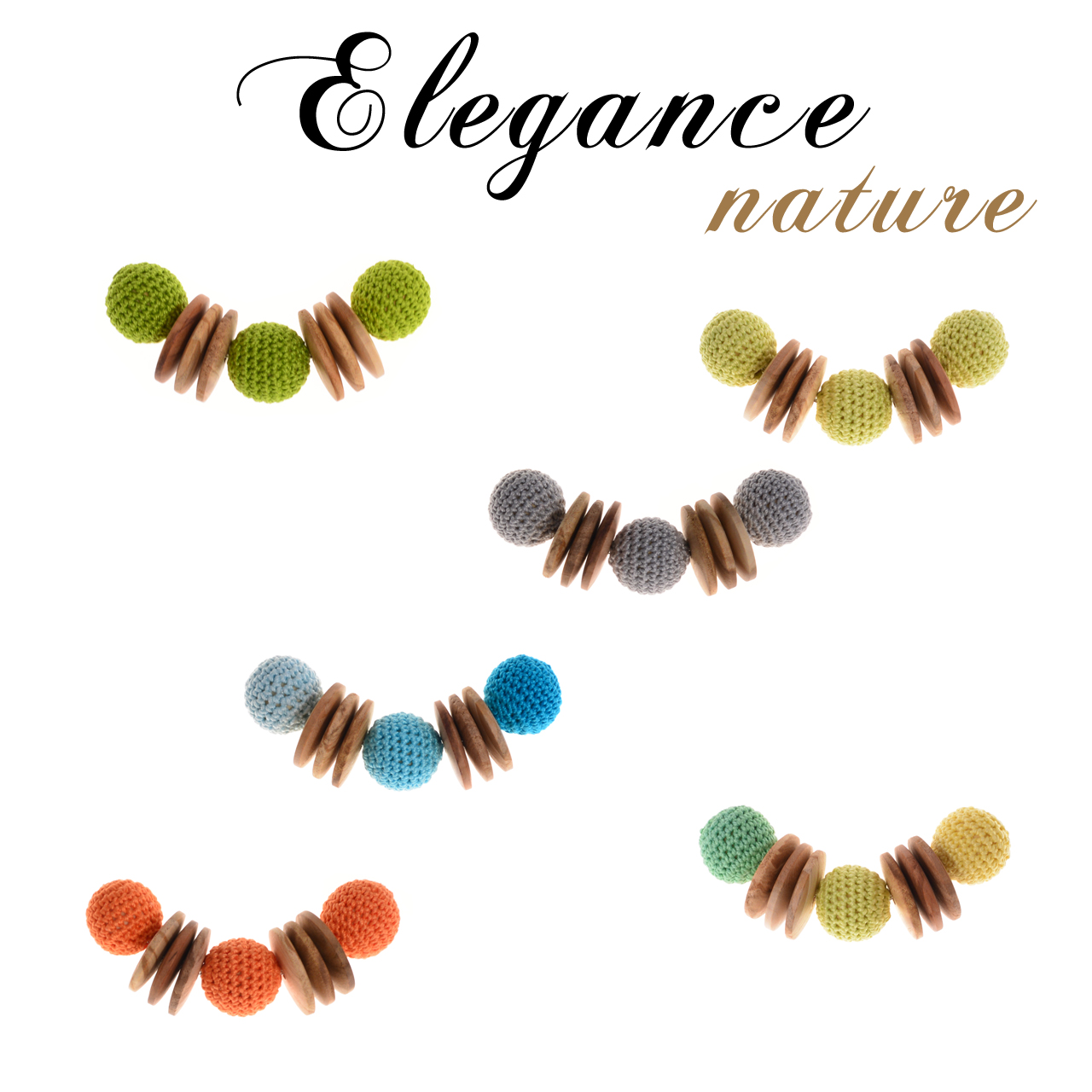 Mon Bijou - Necklace Elegance Nature | The Design Gift Shop