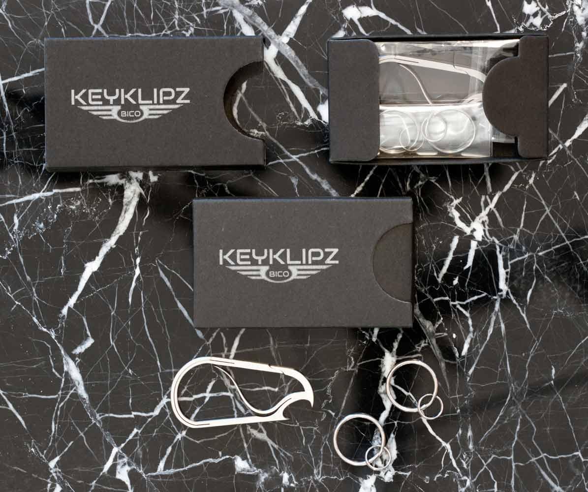 Bico Keyklipz gift box   The Design Gift Shop