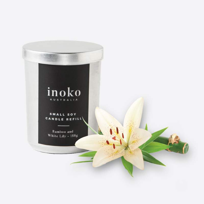 Inoko Small Soy Candle Refill | The Design Gift Shop