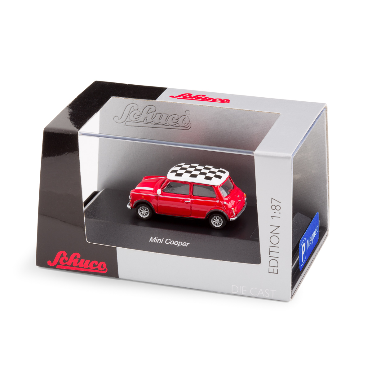 Mini Cooper with magnet in the underfloor   The Design Gift Shop