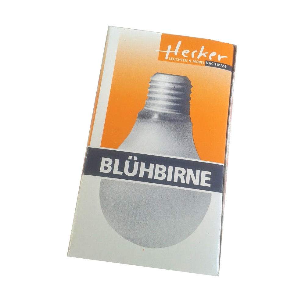 Lightbulb vase Bluehbirne package | The Design Gift Shop