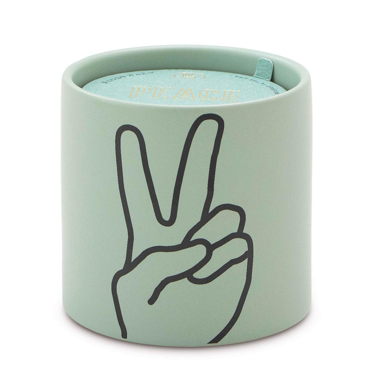 PADDYWAX Impressions Soy Candle PEACE Lavender & Thyme | the design gift shop