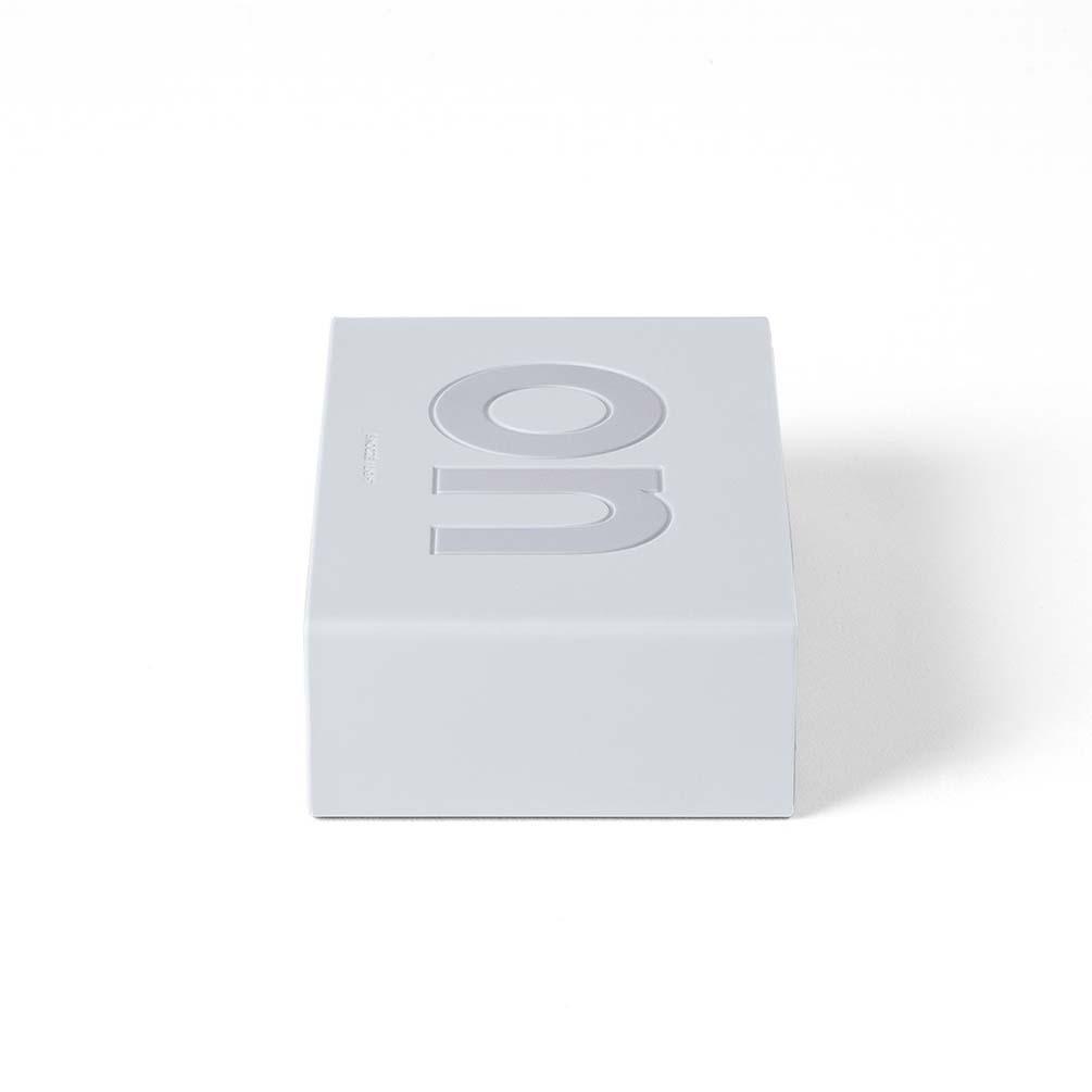 LEXON Flip LCD alarm clock LR130W white | the design gift shop