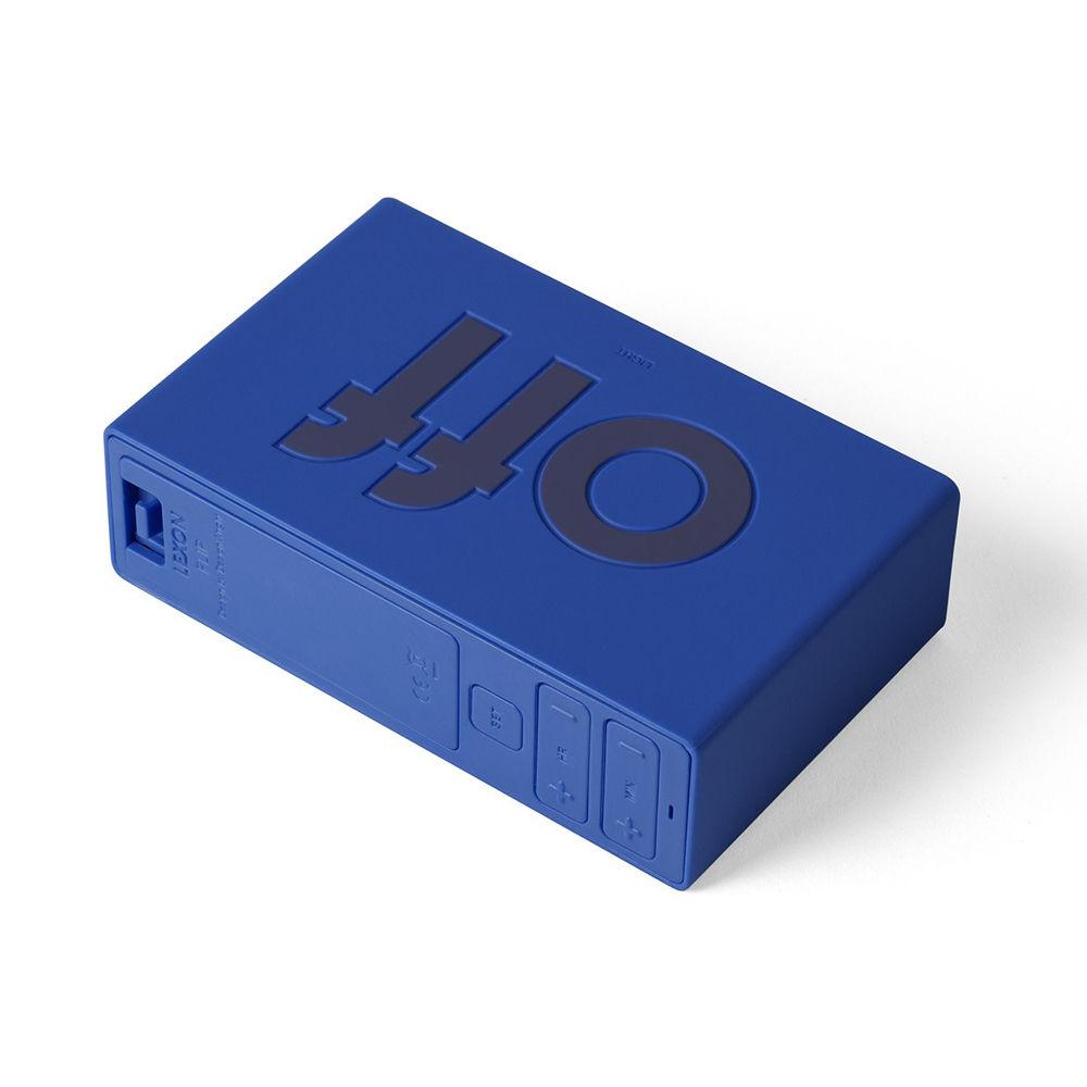 LEXON Flip LCD alarm clock LR130B6 blue | The Design Gift Shop