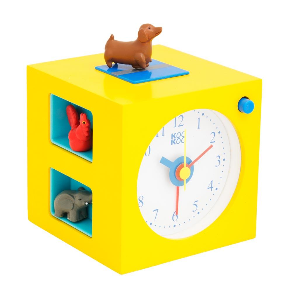 KidsAlarm yellow alarm clock   the design gift shop