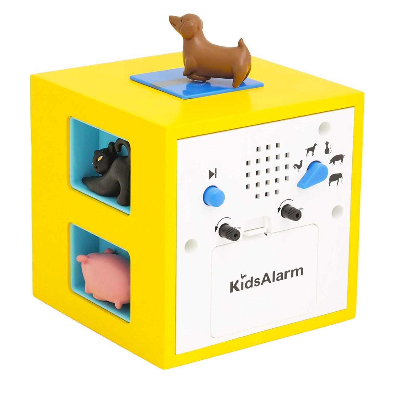 KidsAlarm yellow alarm clock | the design gift shop