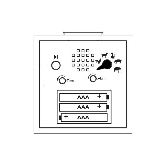 KidsAlarm clock | the design gift shop