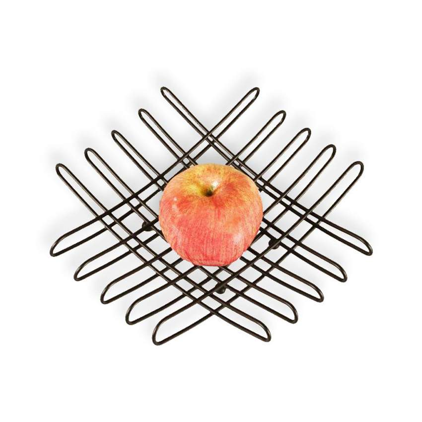 bendo grid luxe fruit bowl black | The Design Gift Shop