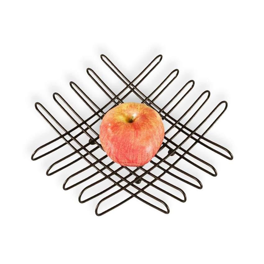 bendo grid luxe fruit bowl large black | The Design Gift Shop