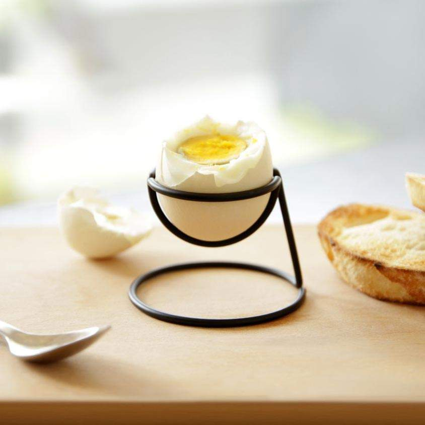Bendo egg cup Yolk Luxe in black | The Design Gift Shop