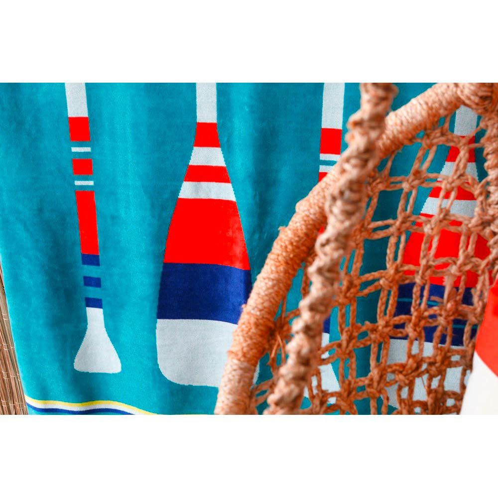 Luxe Beach Towel 'Paddle' by Jean-Vier   The Design Gift Shop