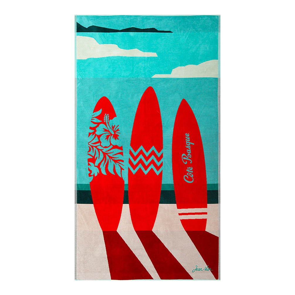Luxe Beach Towel 'Cote Basque' by Jean-Vier | The Design Gift Shop