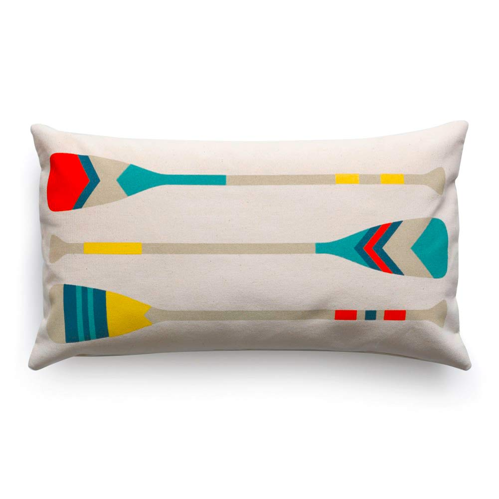 Cushion Cover 'Paddle' by Jean-Vier | The Design Gift Shop