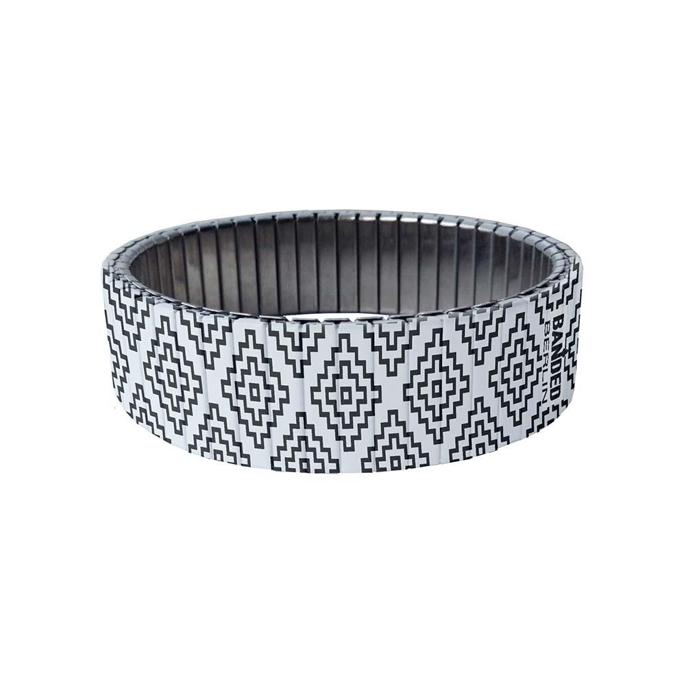 Peyote Black bracelet by Banded - Berlin | The Design Gift Shop