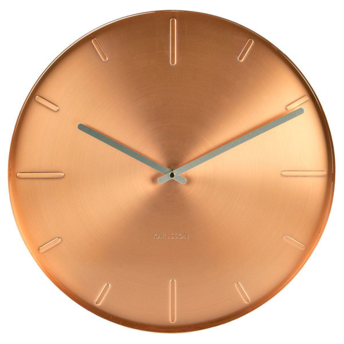 Karlsson Belt Copper Wall Clock - Ø 40cm x 3.5cm