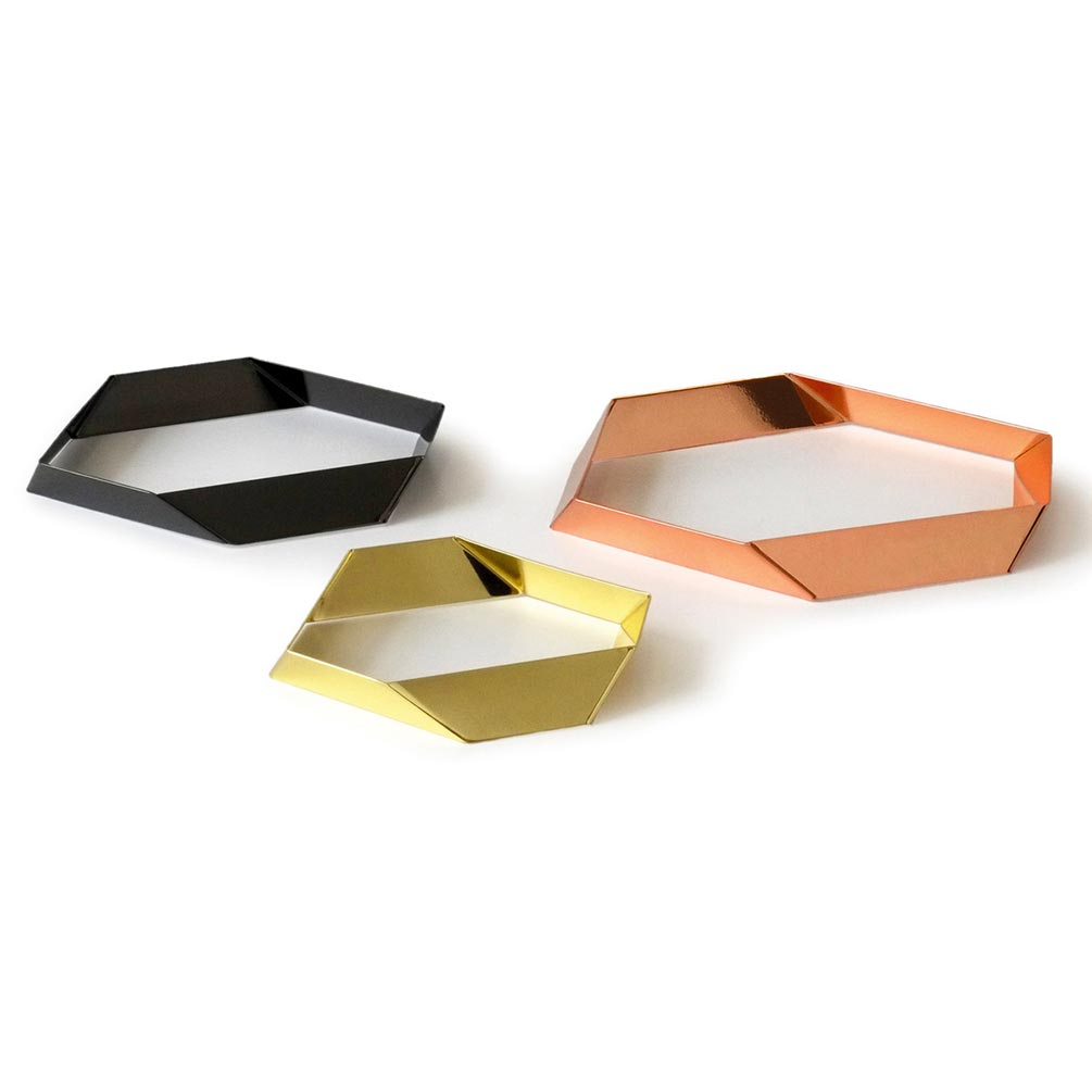 Hexagon Trivet Set of Three by Siebensachen | The Design Gift Shop