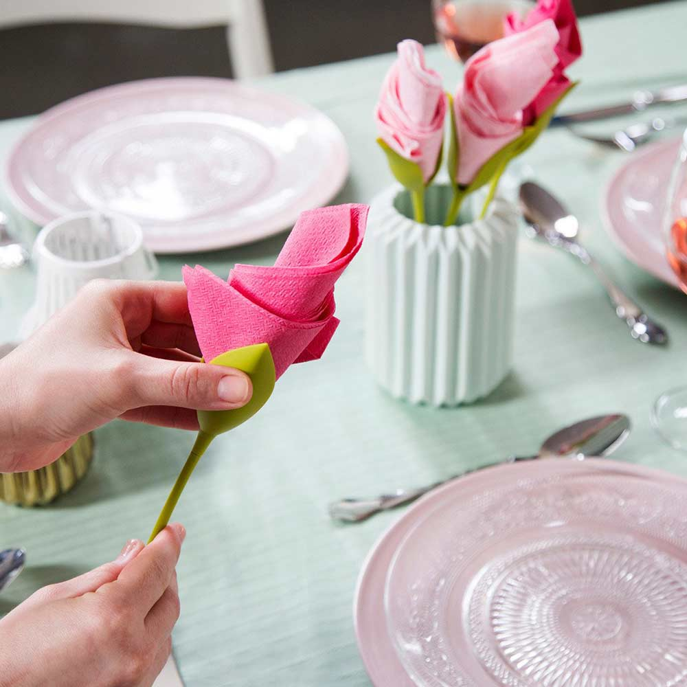 Peleg Design Bloom Napkin Holder | The Design Gift Shop
