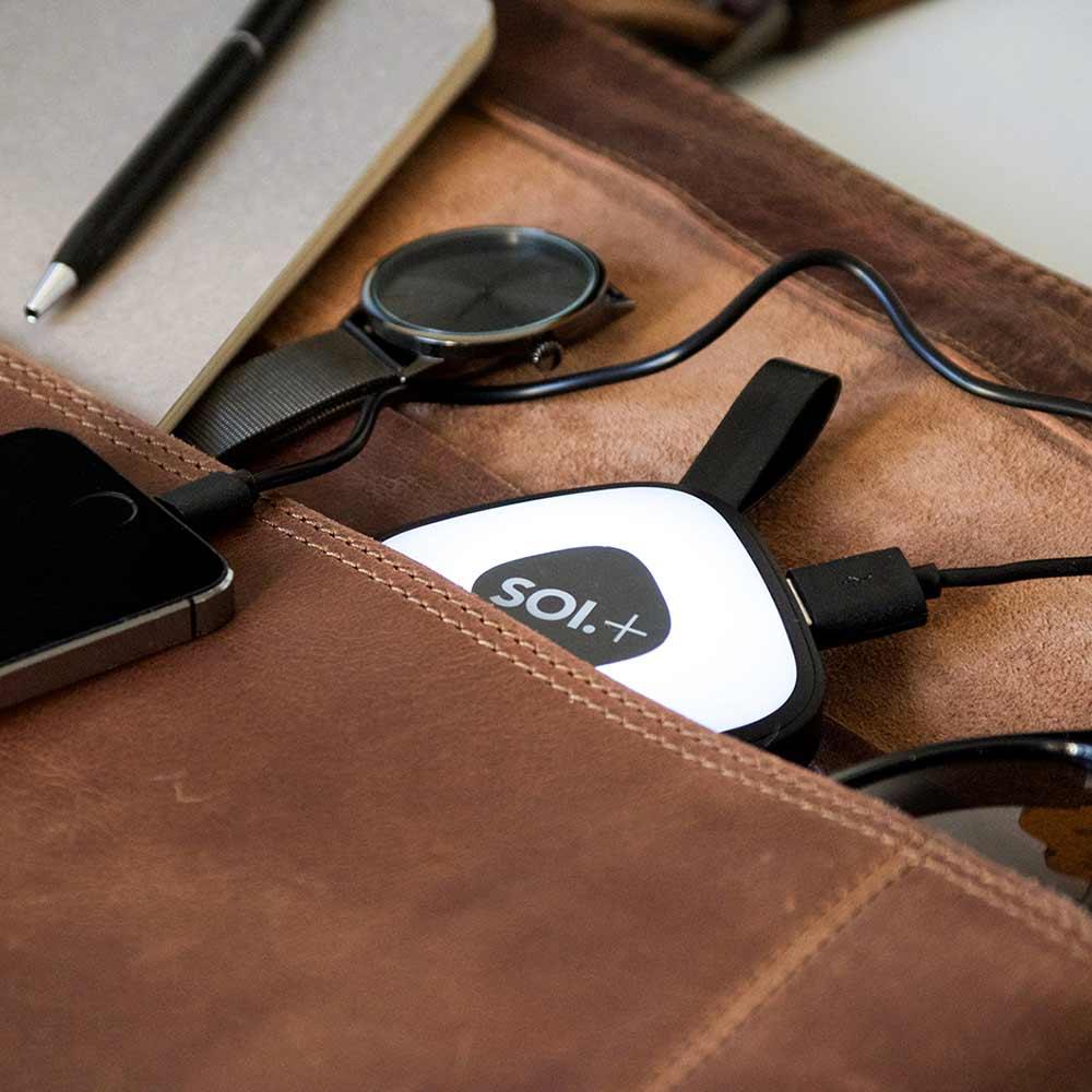 BRAINSTREAM | SOI Plus Handbag Light & USB Power Bank