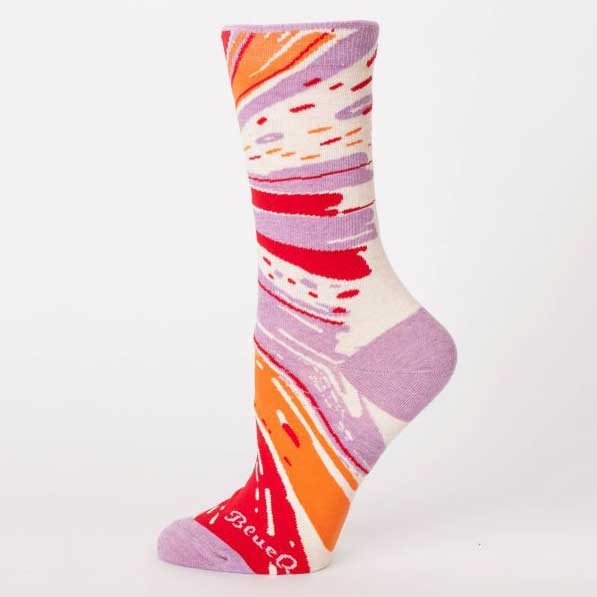 Blue Q Women's Socks 'Superpower' | the design gift shop