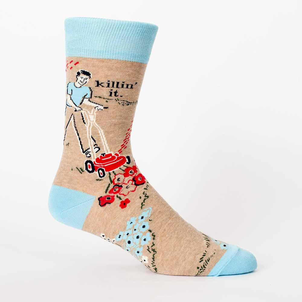 Blue Q Men's Socks 'Killin' it' | the design gift shop