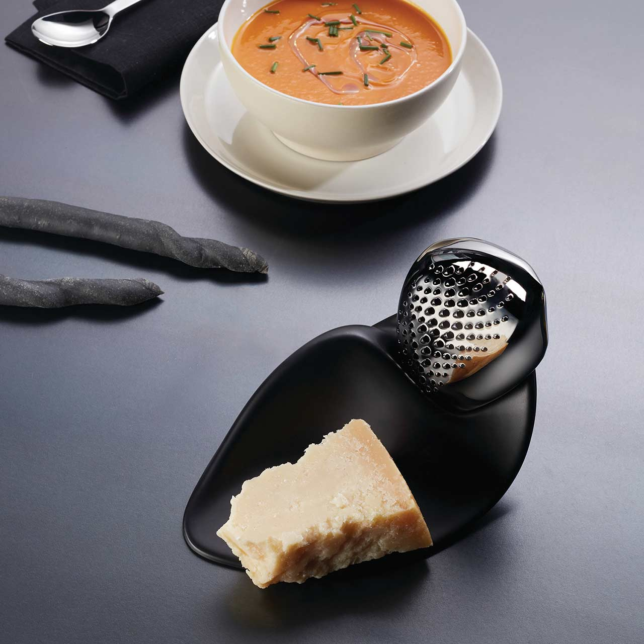 ALESSI Cheese Grater FORMA, design Zaha Hadid | the design gift shop