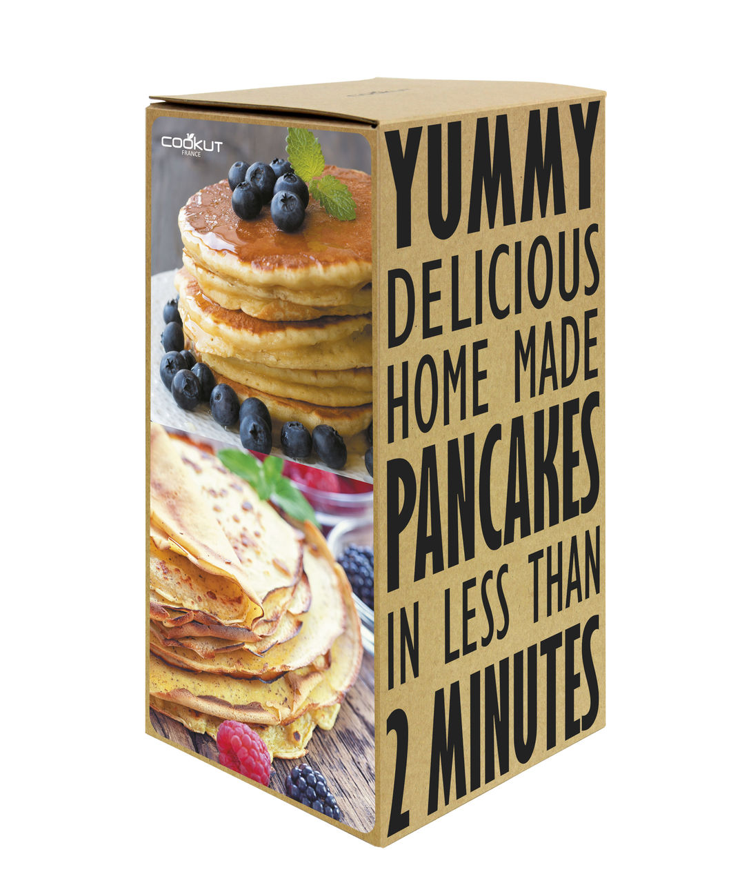 Pancakes & Crepes Shaker 'Miam' by COOKUT | The Design Gift Shop
