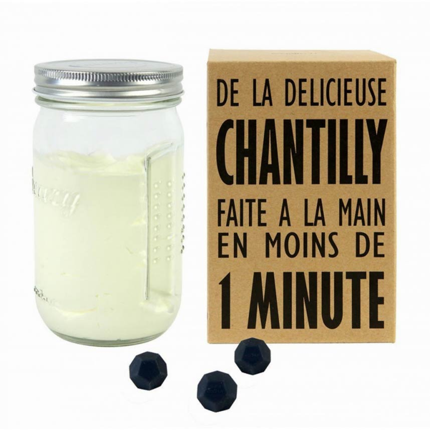 Whipped Cream & Chantilly Shaker 'Creazy' by COOKUT | The Design Gift Shop