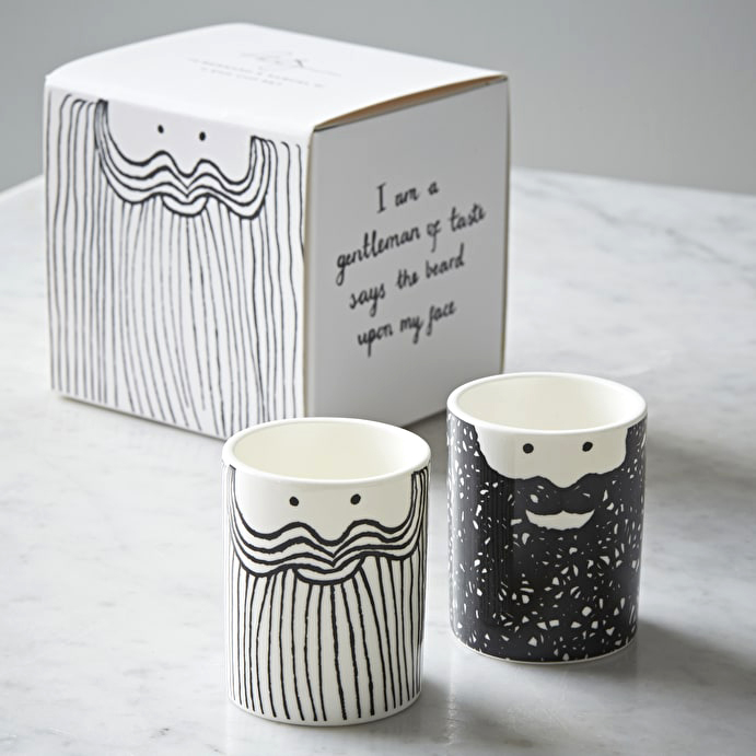 Ceramic Egg Cup Set Bernhard & Samuel by USTUDIO | The Design Gift Shop