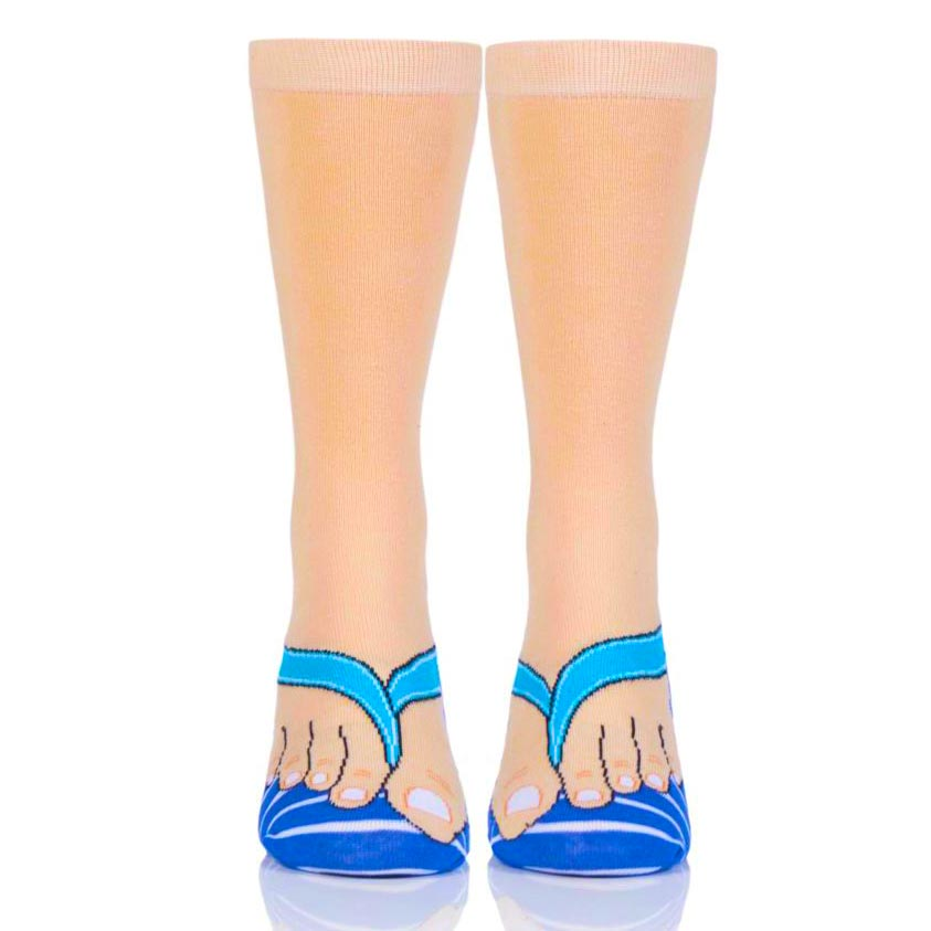 Quirky Flip Flops Socks by Ginger Fox | The Design Gift Shop