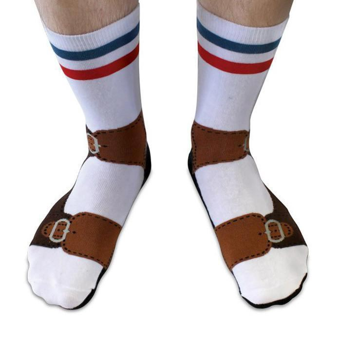 Quirky Sandals Socks by Ginger Fox | The Design Gift Shop