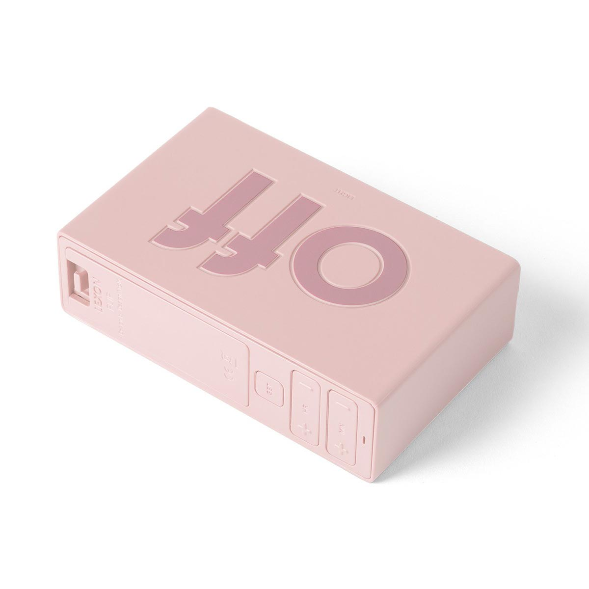 LEXON Flip LCD alarm clock LR150P9 pink | the design gift shop