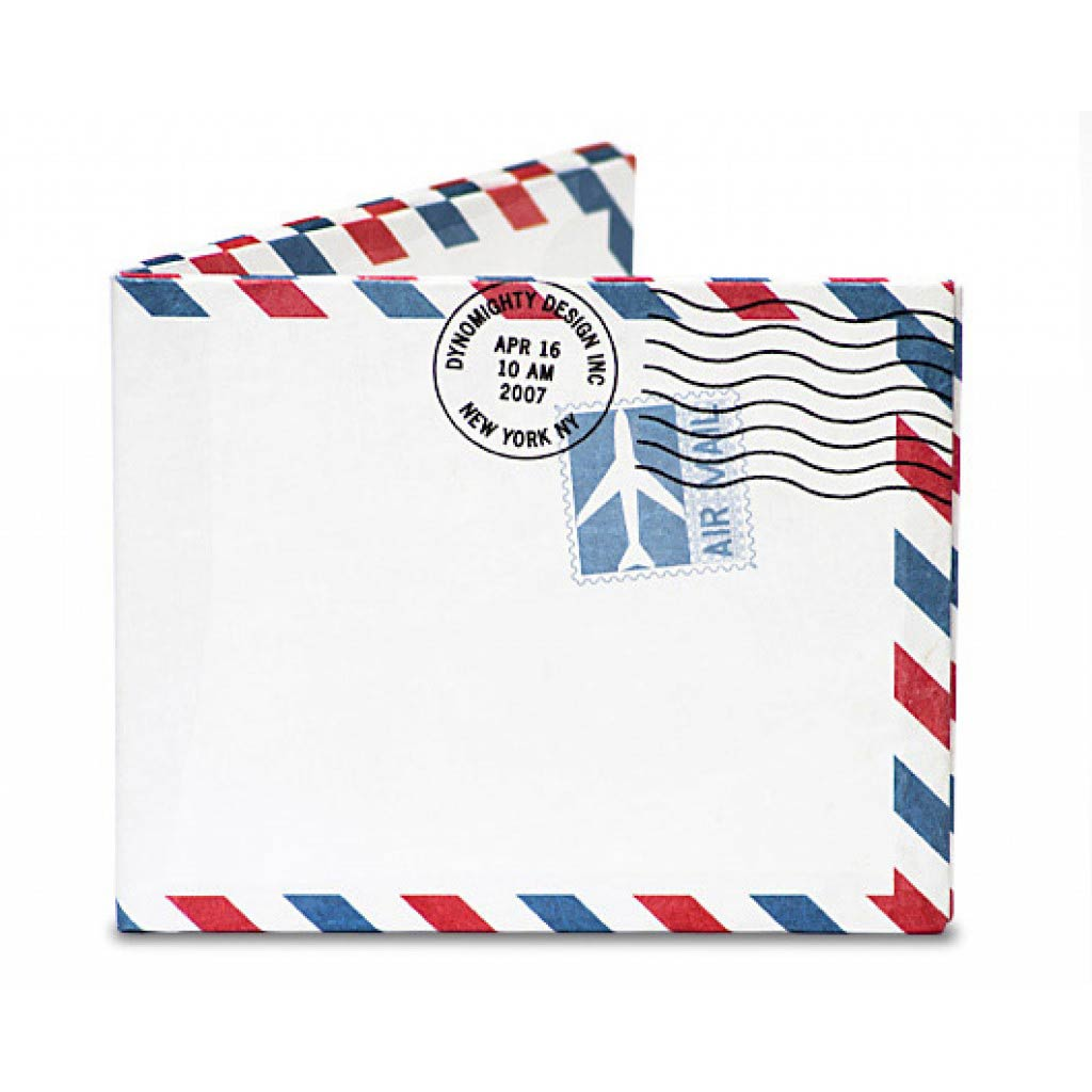 Mighty Wallet Airmail   The Design Gift Shop