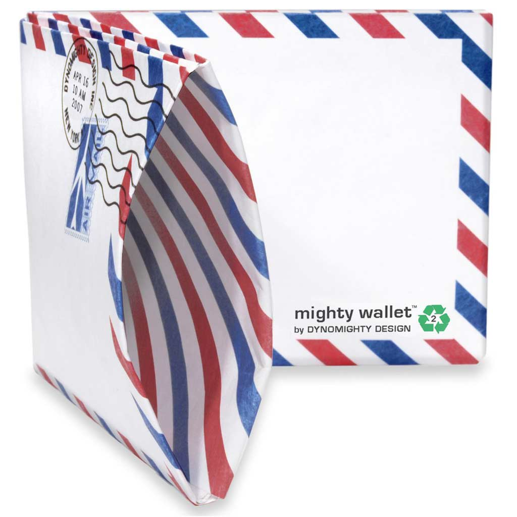 Mighty Wallet Airmail | The Design Gift Shop