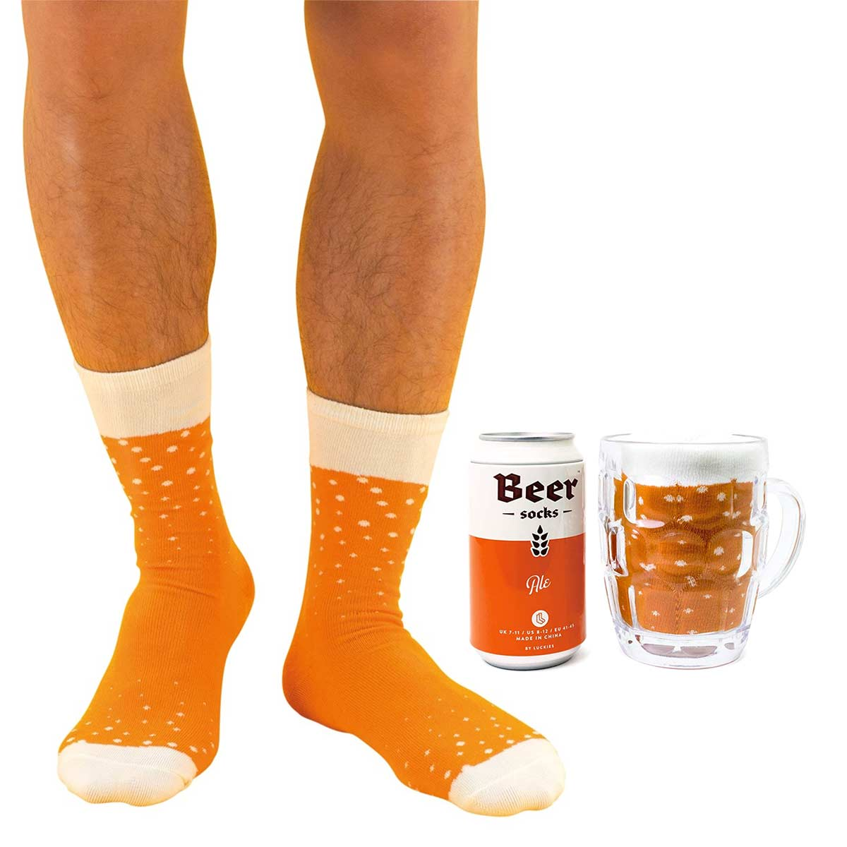 Luckies Men's Beer Socks 'Ale' | The Design Gift Shop