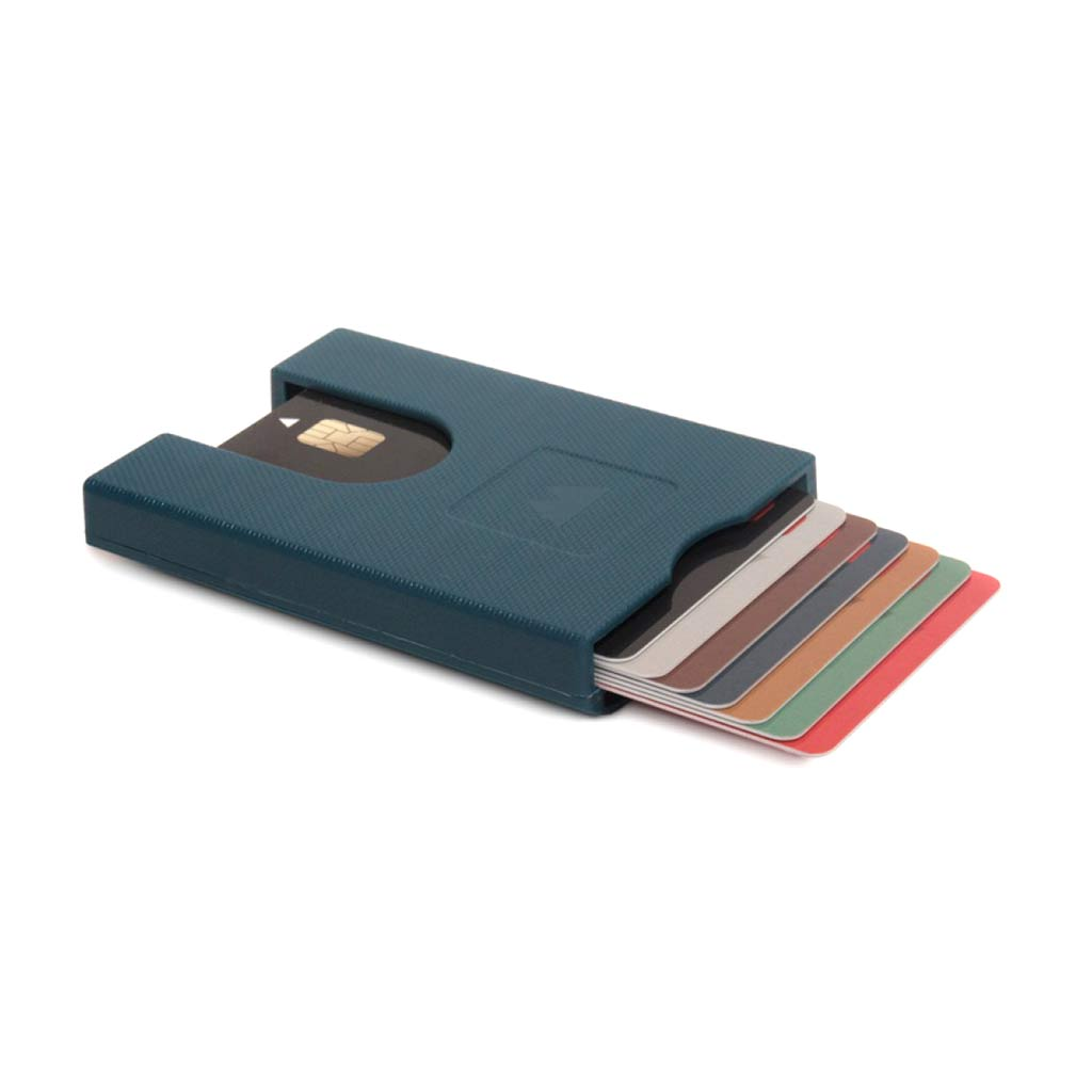 Walter Wallet Credit Card Holder True Blue | The Design Gift Shop