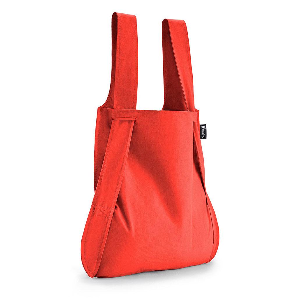 Notabag Shopping Bag & Backpack in Red | The Design Gift Shop