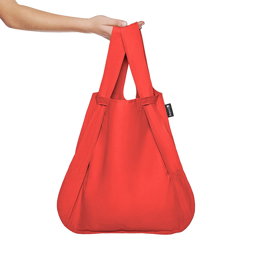 Notabag Shopping Bag & Backpack in Red | The Design Gift Shop